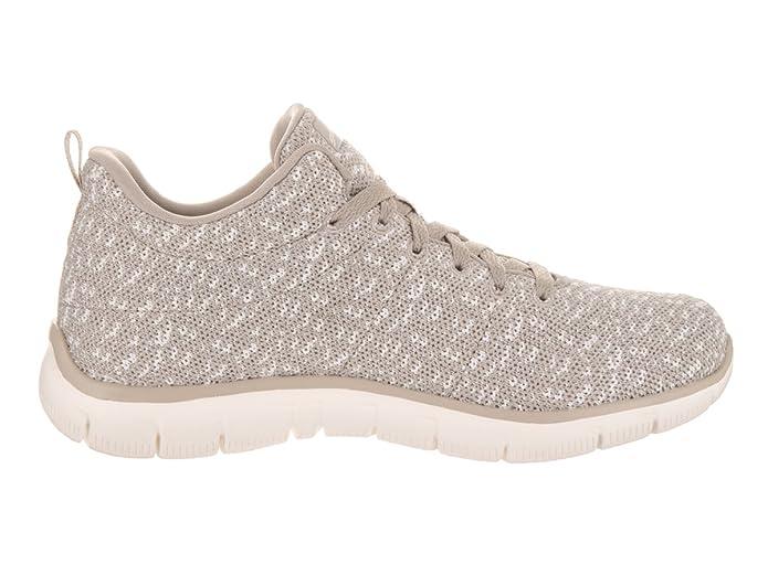 Calzado Deportivo para Mujer, Color Hueso, Marca Skechers, Modelo Calzado Deportivo para Mujer Skechers Empire Connections Hueso