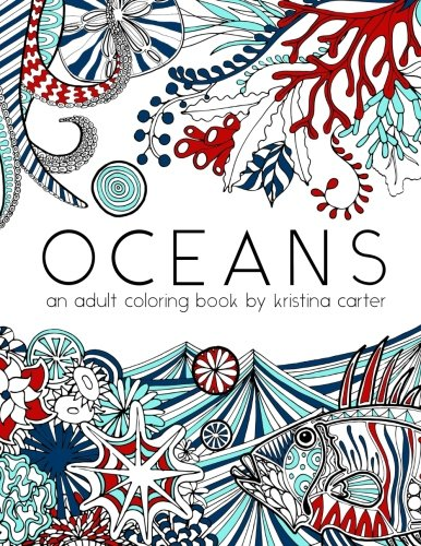 Beach Adult Coloring Books Book Adults