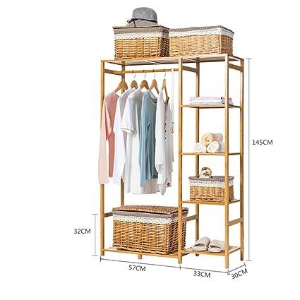 Cabinet Type Hanger Simple Wooden Coat Rack Clothes Hanger Ground,living  Room,bedroom,