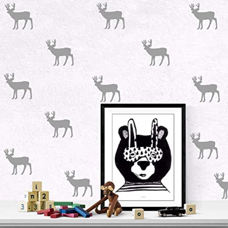 Vinilo Infantil,Cartoon Diy6 Pc/Set Elk Vinilo Adhesivo ...