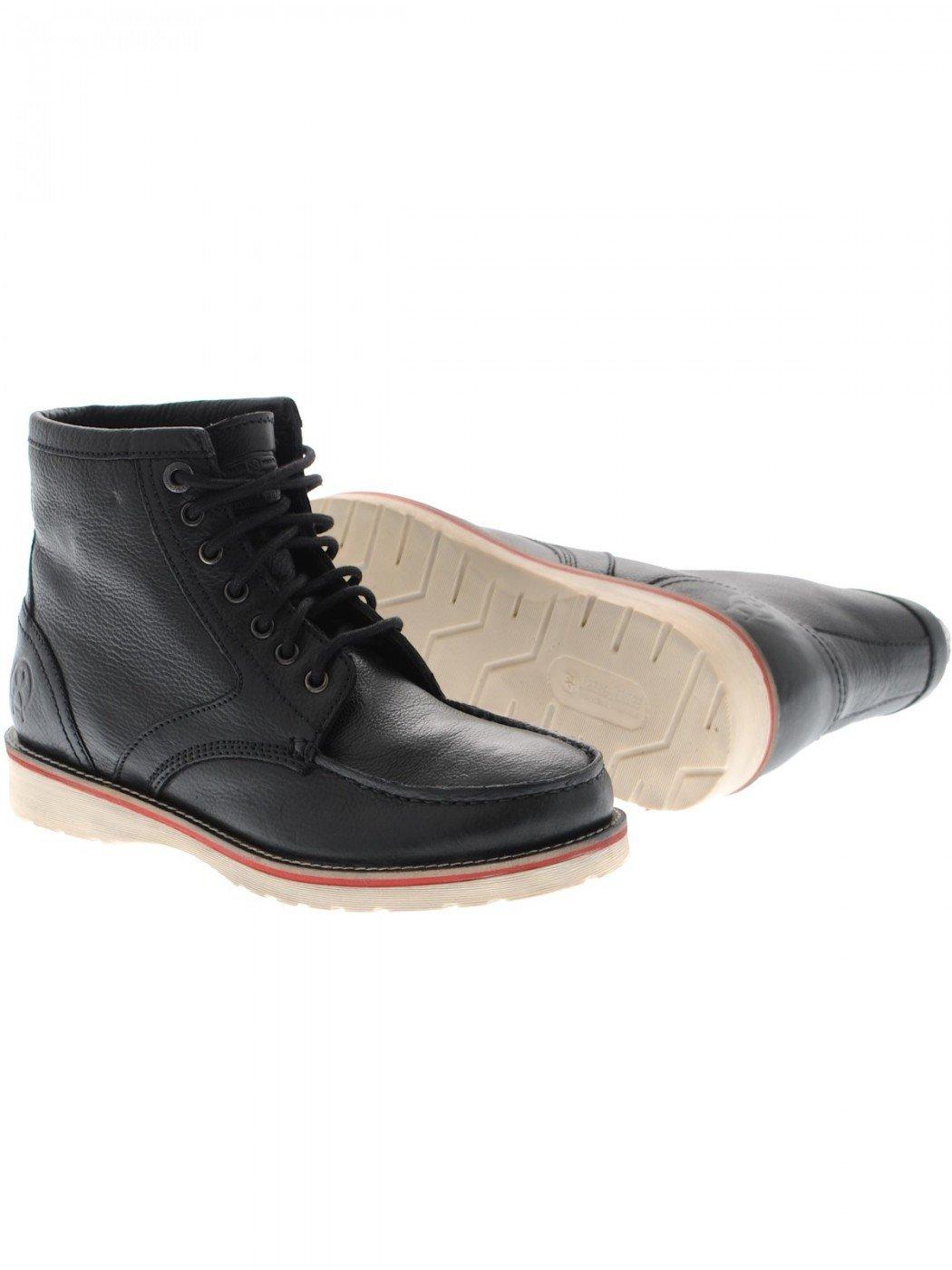 Jesse James Guantes Workwear Safety Boots Hombre Botas Piel Impermeable 46|negro