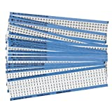 Brady CPCWM-1-25, 12501 Wire Marker Card Combination Pack, 5 Boxes of 25 pcs