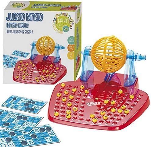 Tachan- Juego Bingo Lotto, Color Rojo/Amarillo/Azul (CPA Toy Group 10898): Amazon.es: Juguetes y juegos