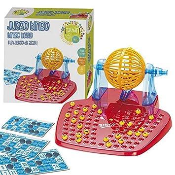 Tachan Juego Bingo Lotto Color Rojo Amarillo Azul CPA Toy Group 10898   Amazon.es  Juguetes y juegos 0987961453569