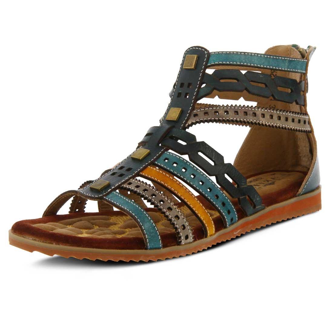 L'Artiste by Spring Step Women's Anjula Sandals B01N1H7SOB 40 M EU Teal