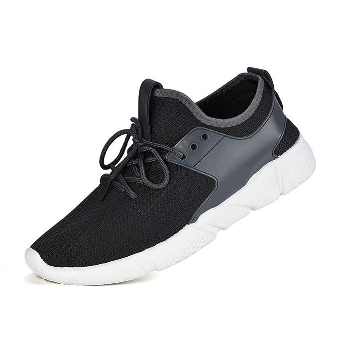 ❤ Zapatos para Correr para Hombres, Correas de los Hombres de la Moda Deportes Corrientes Zapatillas de Deporte Zapatos sólidos Absolute: Amazon.es: Ropa ...