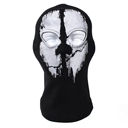 Skull Balaclava Windproof Ski Face Mask Winter Motorcycle Neck Warmer  Tactical Balaclava Hood for Women Men 101bc0253