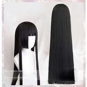 Long Straight Wigs Kakegurui Compulsive Gambler Yumeko ...