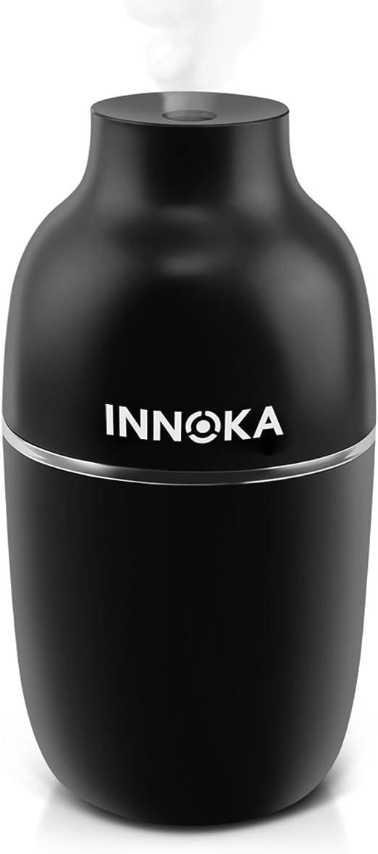 INNOKA Ultrasonic Portable USB Cool Mist Mini Air Humidifier Auto Shut Off White