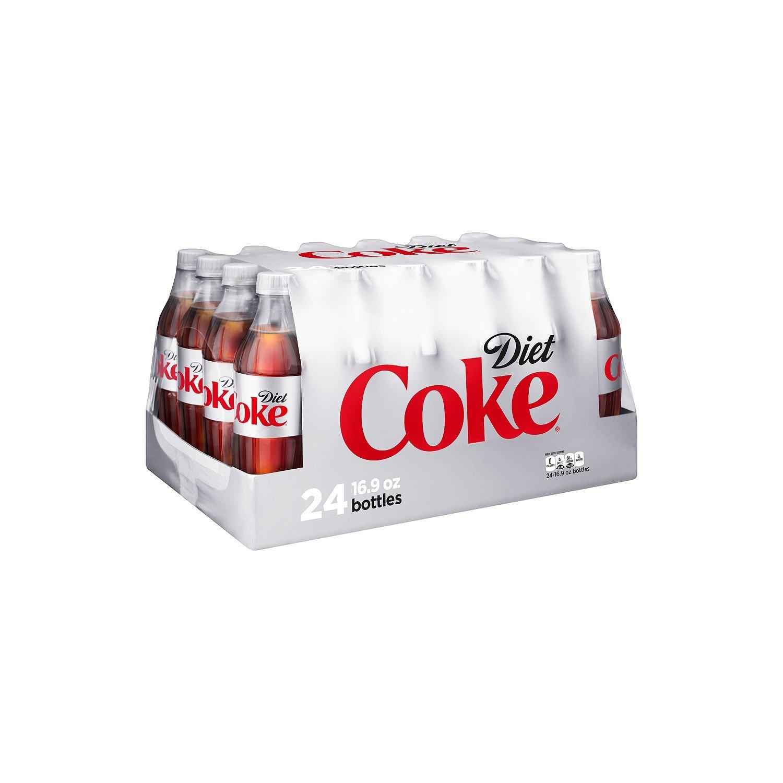 Amazon Com Coca Cola Diet Coke Soda 16 9 Ounce 24 Bottles Grocery Gourmet Food