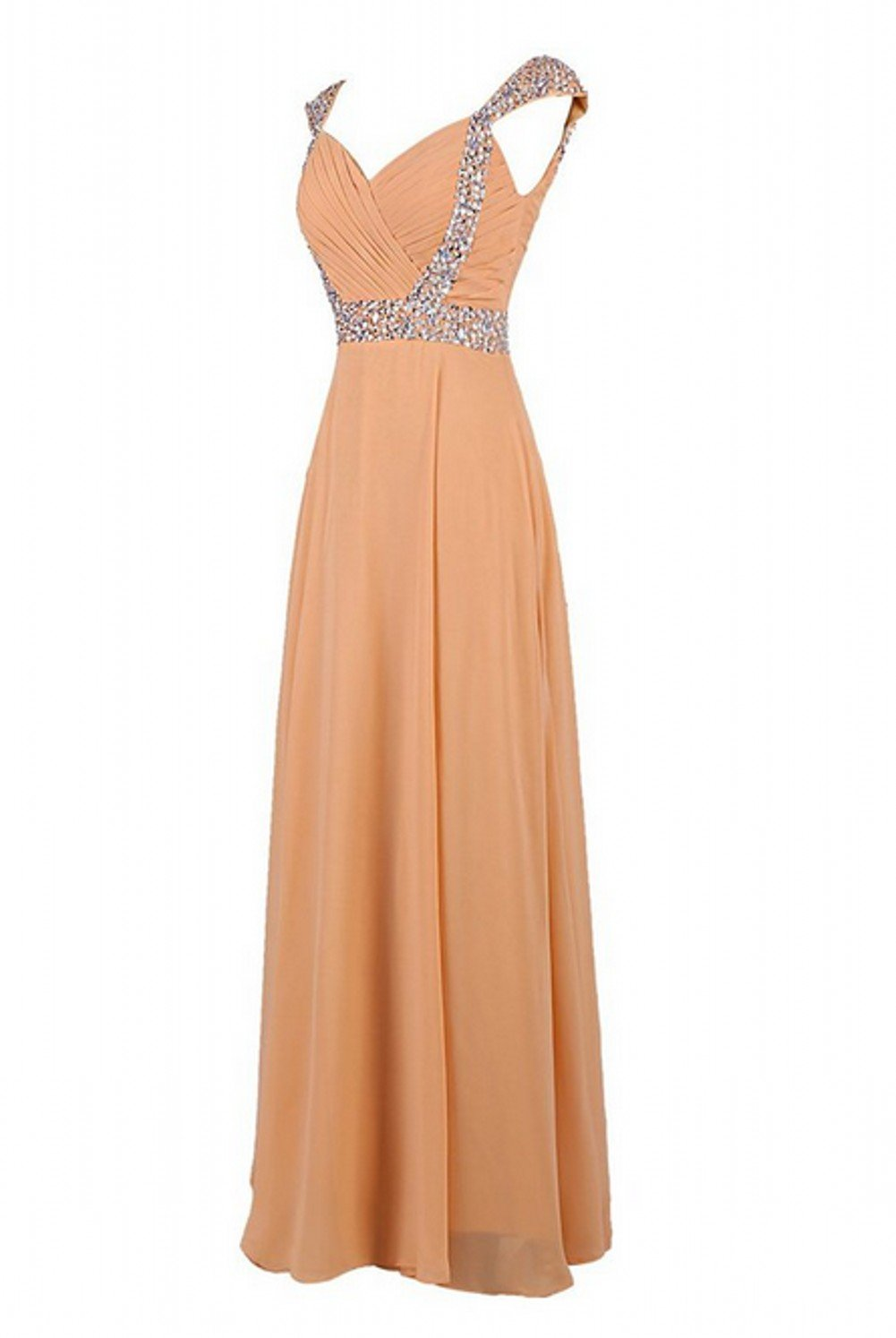 Love Dress Women Long Bridesmaid Dress Prom Party Gown Coral Us 26w by Love To Dress (Image #2)