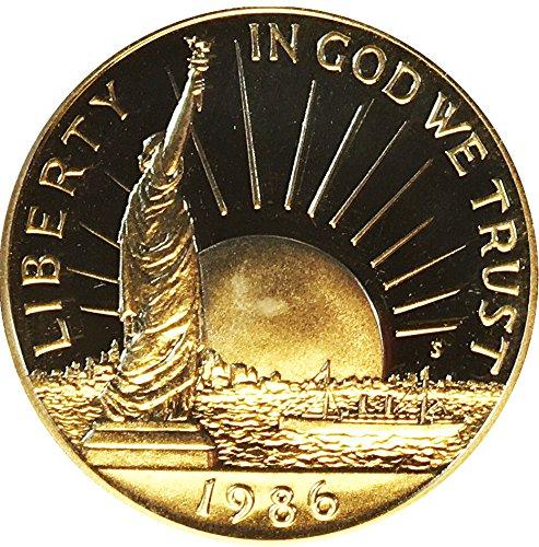1986 S Liberty Half Dollar 50C Perfect Uncirculated US Mint ()