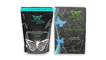Trim Healthy Mama Integral Collagen 16oz Bag & Oolong Tea (Box of 100 Individually-