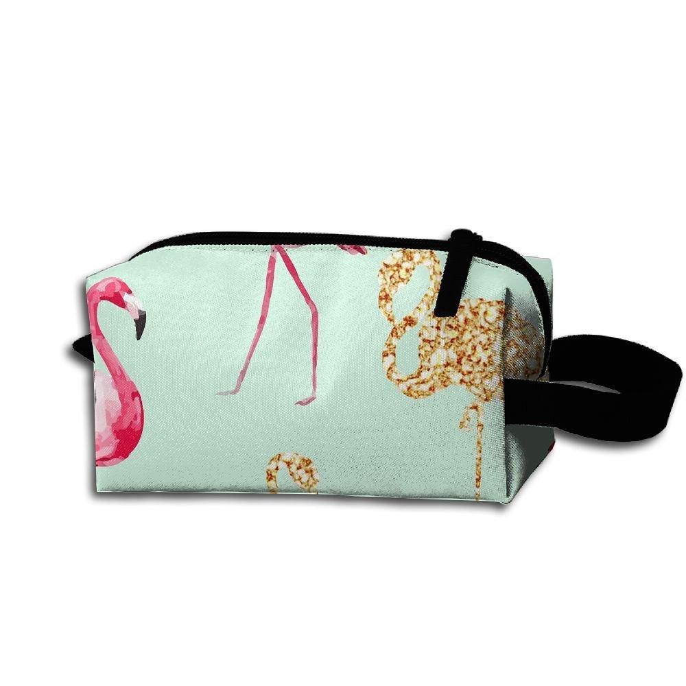 Makeup Cosmetic Bag Beautiful Animal Pattern Zip Travel Portable Storage Pouch For Men Women