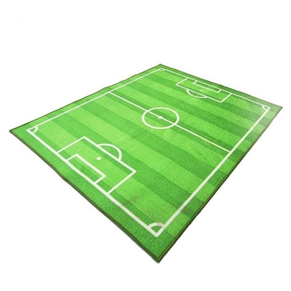 FBDF Los niños de la Alfombra del Campo de fútbol del fútbol Que se arrastran juegan la Manta Suave del cojín 800 * 1200mm