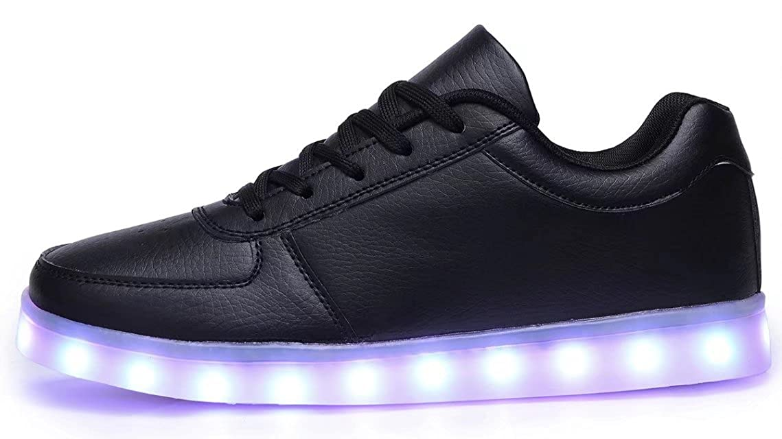 f388baabc26bd Odema Women Lowtop USB Charging LED Shoes Flashing Lace up Fashion Sneakers