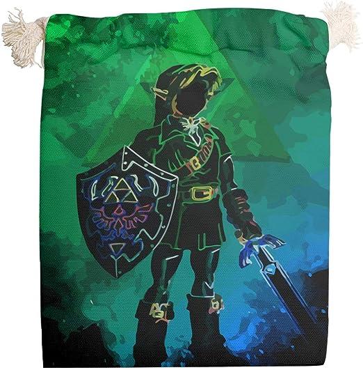 Chanpin Zelda - Bolsa de Lona de algodón Transpirable y Resistente ...