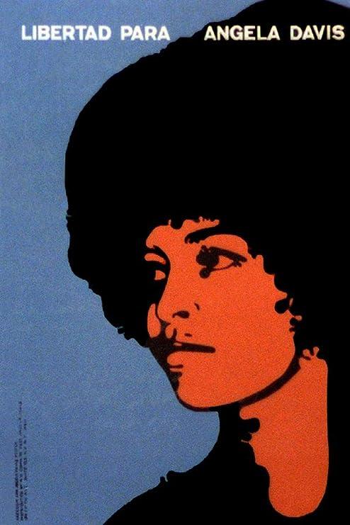 Angela Davis Poster Liberate Minds and Society Art Print 18x24