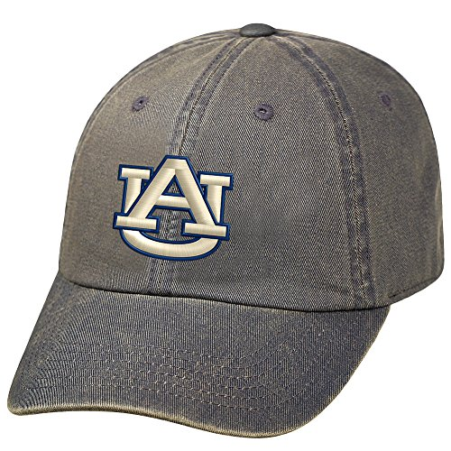 Elite Fan Shop Auburn Tigers Charcoal Icon Hat