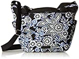 Vera Bradley Hadley on the Go Satchel, Snow Lotus