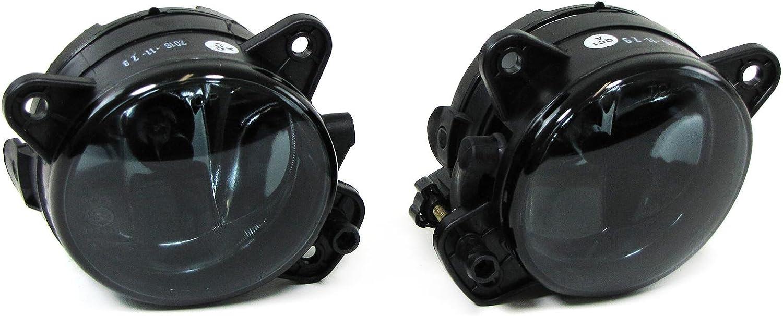 Klarglas HB4 Lot de 2 phares antibrouillard Noir