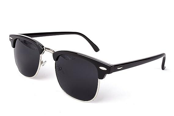 Amazon.com: Half Metal SunBrand Designer Mirror Fashion ...