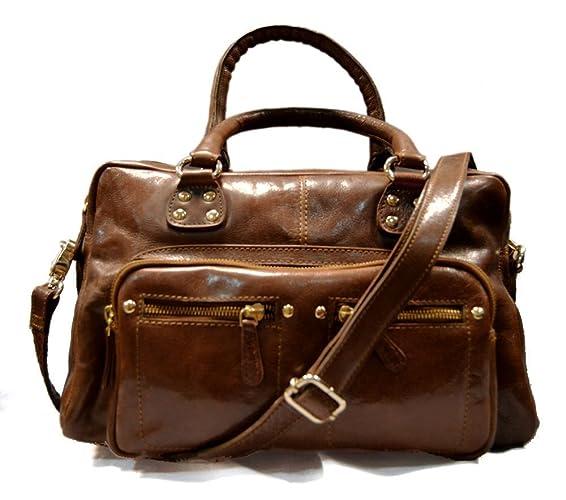 780c0ee99392 Ladies buffalo leather handbag womens shoulder bag leather satchel ...