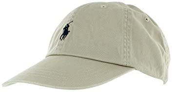 Amazon.com  Polo Ralph Lauren Men Pony Logo Adjustable Hat Cap (One ... 77b1c0e17fd