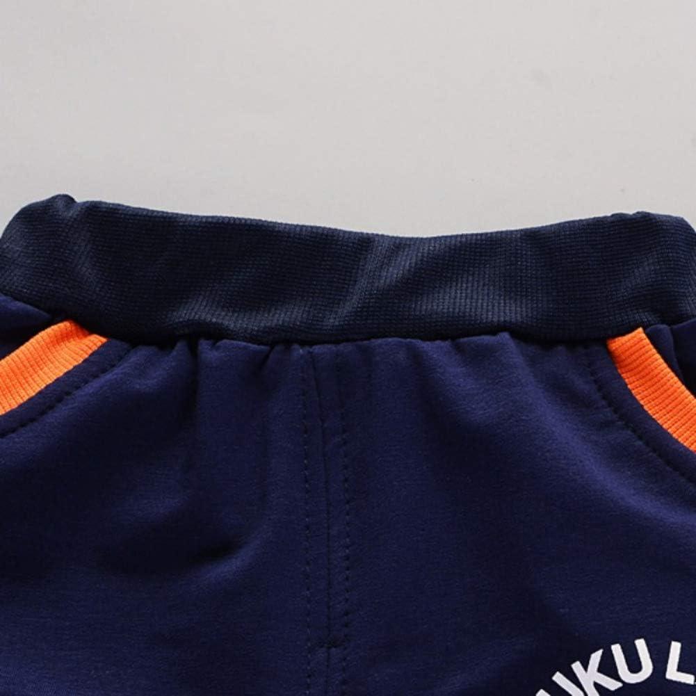 Pantalon de Sport 2Pcs Outfits pour 0-4 Ans Enfants Gyratedream Ensemble de V/êtements pour B/éb/é Gar/çon Fille Surv/êtements Sweat /à Capuche T-Shirt Manches Longues