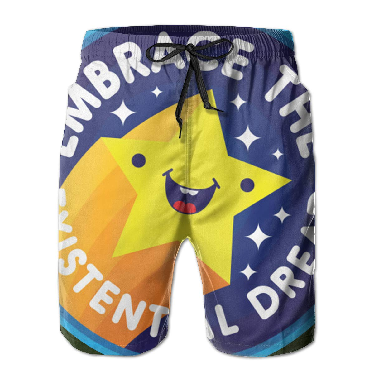 Embrace The Existential Dread Mens Swim Trunks Board Shorts