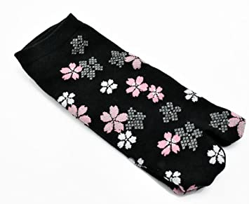 Tabi calcetines Hana japonés Split 2 par Toe calcetines Ninja Geta Flip Flop Sandalia