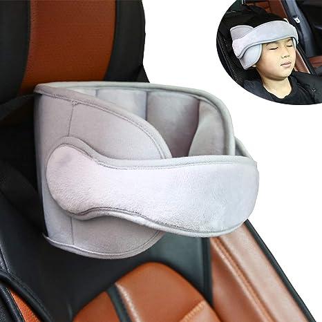 Pejoye Ajustable Asiento para el Automóvil Asiento para la Cabeza Banda de Soporte Suave Material de