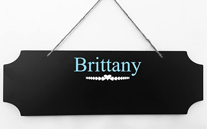 Amazon com: PERSONALIZED CHALKBOARD SIGN, Customize with
