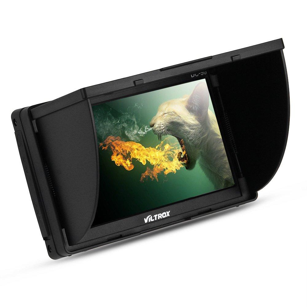 Viltrox DC-50 HD Clip-on LCD 5 Monitor Portable Wide View for Canon Nikon Sony DSLR Camera DV by VILTROX