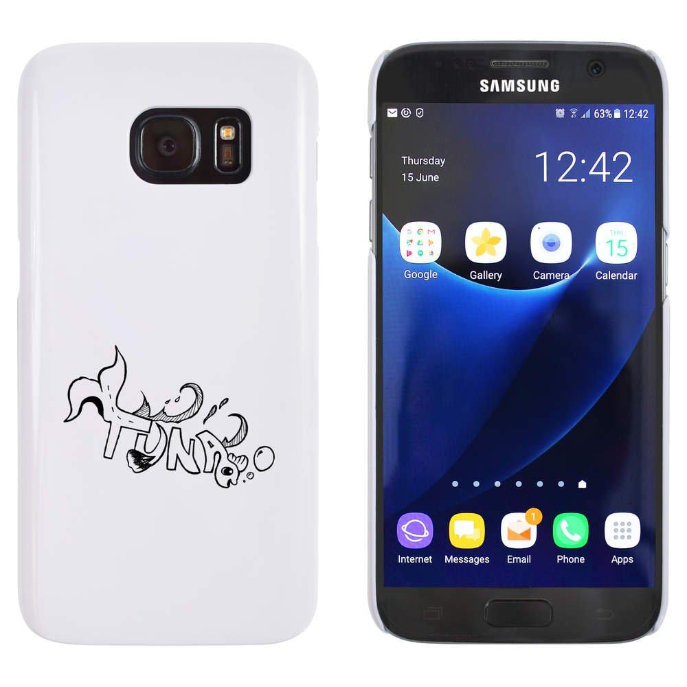 Blanco 'Atún' Funda / Carcasa para Samsung Galaxy S7 (MC00011904)