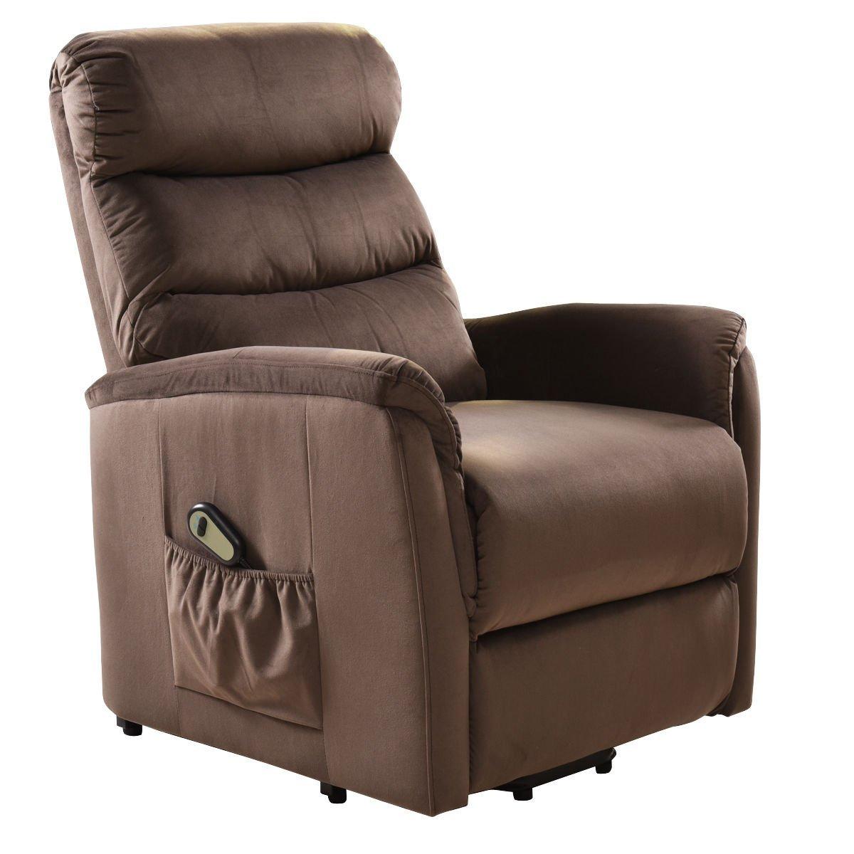 Amazon.com: Giantex Recliner Power Lift Chair Easy Comfort Recliner ...
