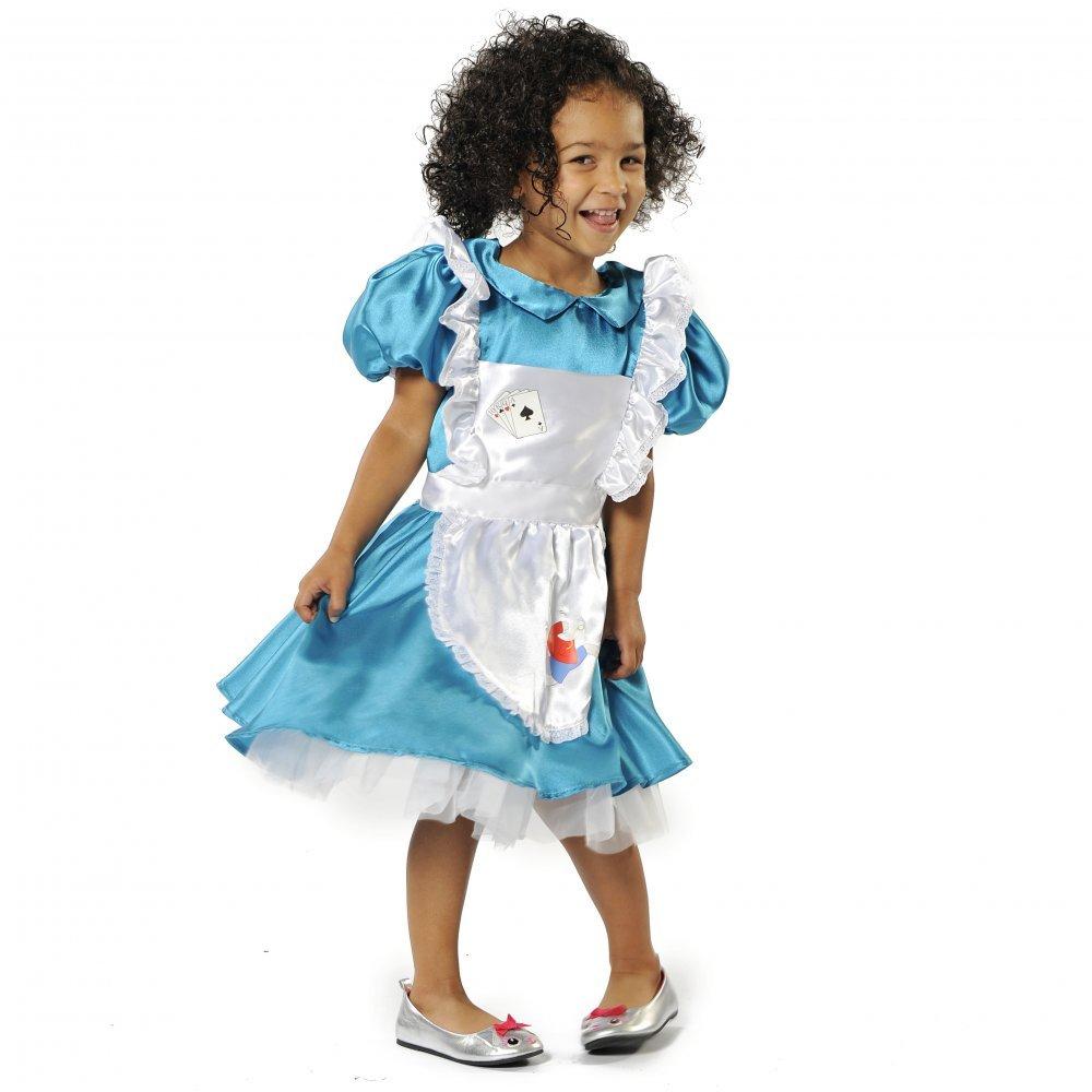 Girl - Disfraz de Alicia para niña, talla 7-9 años (5060251121751 ...