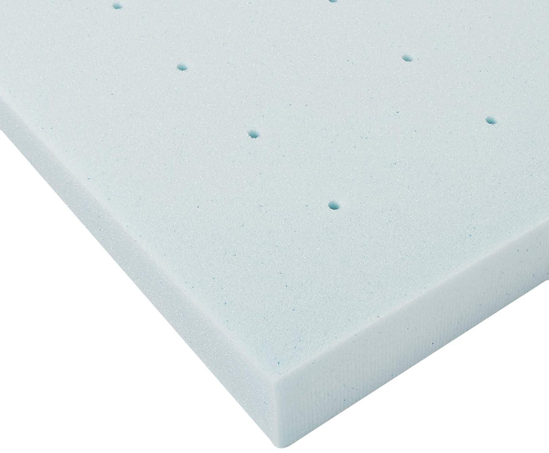 LUCID 2 Inch Gel Infused Memory Foam Mattress Topper Full LU20FF30GT