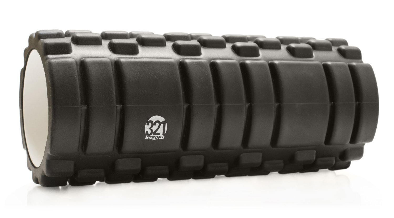 321 STRONG Foam Roller – Medium Density Deep Tissue Massager for Muscle Massage and Myofascial Trigger Point Release, with 4K eBook
