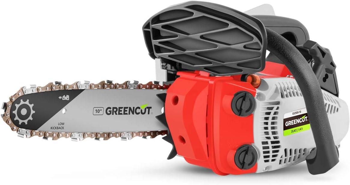 Greencut GS250X-10 Motosierra de gasolina