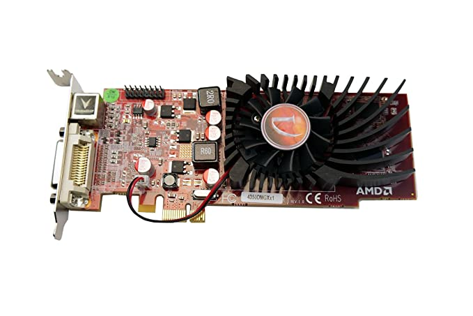 VisionTek Radeon 4350 SFF DMS59 512MB DDR2 PCIe x1 Graphics Card - 900308