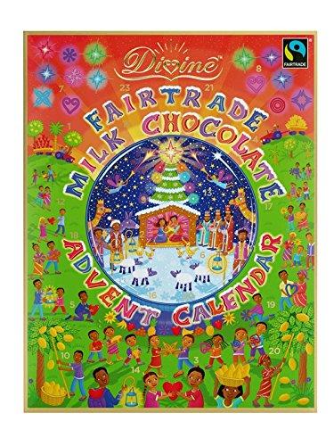 Divine - Fairtrade Milk Chocolate Advent Calendar - 85g