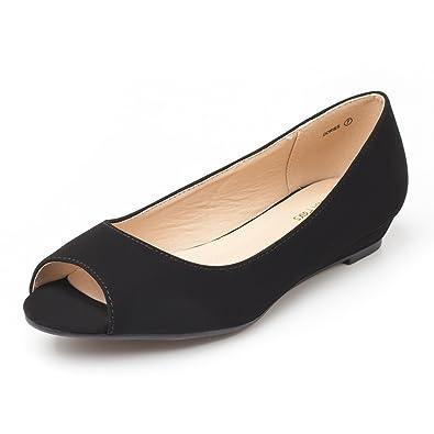 Peep Toe Flats
