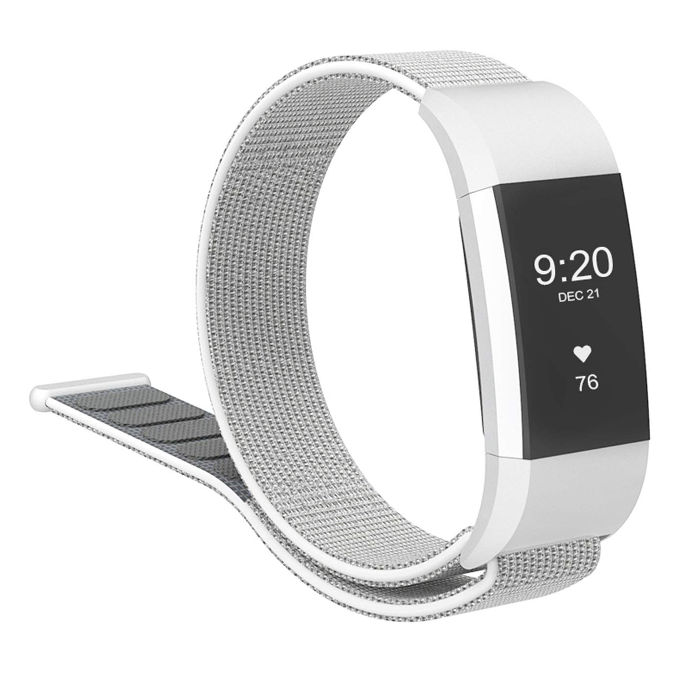 cosyzanx Fitbit Charge 2バンドソフトナイロンメンズレディース軽量交換用ストラップアクセサリーバンドFitbit Charge 2 Fitness Tracker with VelcroスポーツWristbands複数の色 B07DH5ZCB2