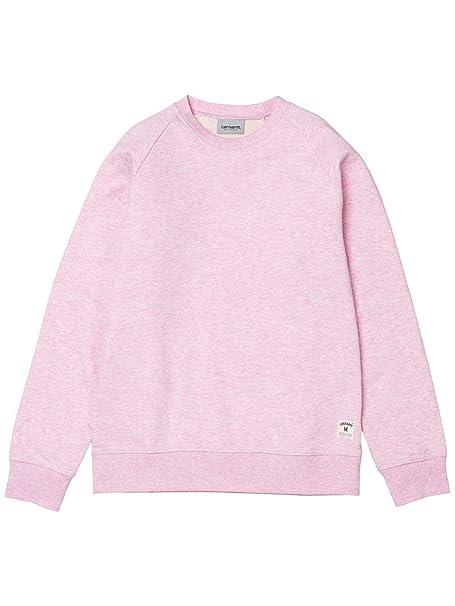 CARHARTT WIP - Sudadera - para hombre rosa vegas pink heather S: Amazon.es: Ropa y accesorios