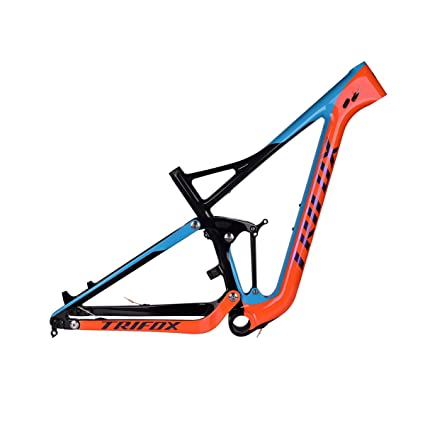 Amazon.com : TRIFOX Reliable Strength Carbon 29er Full Suspension ...