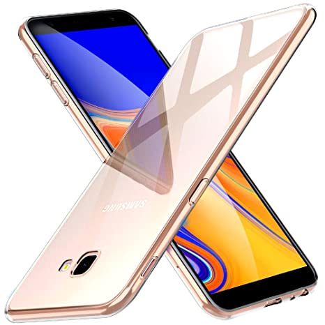 Peakally Funda Samsung Galaxy J4 Plus / J4+, Transparente Silicona Funda para Samsung Galaxy J4 Plus Carcasa Flexible Claro Ligero TPU Fundas ...