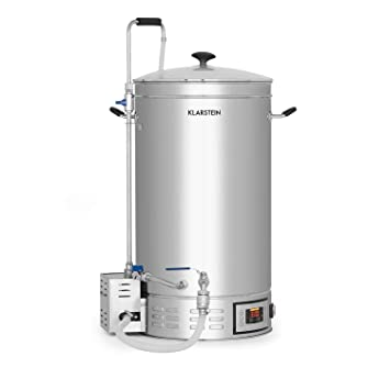 Klarstein Brauheld 45 Caldera de maceración • Juego de fermentación • Cerveza casera • 45 L