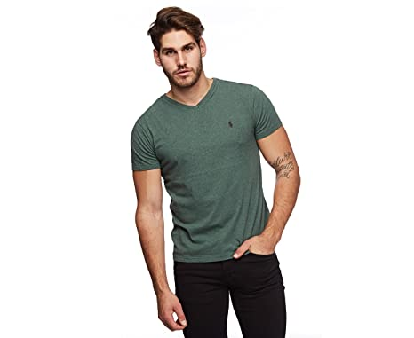 966926096 Image Unavailable. Image not available for. Color: Polo Ralph Lauren Men's  Classic Fit V-Neck T-Shirt ...