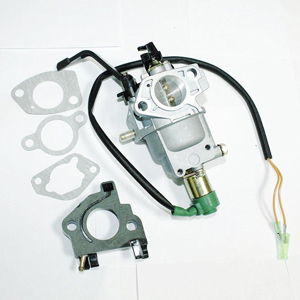 Amazon.com : Lumix GC Insulator Air Intake Gaskets Manual Carburetor For Generac  GP7500 GP7500E Model 5943 5978 7500 9375 Watts Gas Generators : Garden & ...